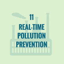 real-time pollution prevention