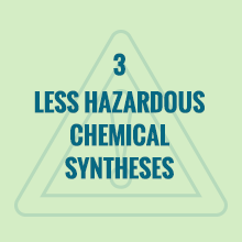 Less hazardous chemical syntheses