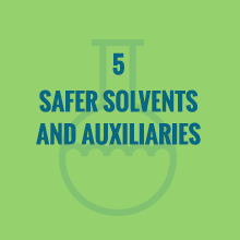 safer solvents and auxiliaries