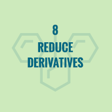 reduce derivatives